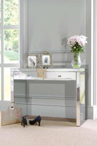My-Furniture - Aphrodite - Console/Toeletta a Specchio in Stile Veneziano  (Serie Chelsea)