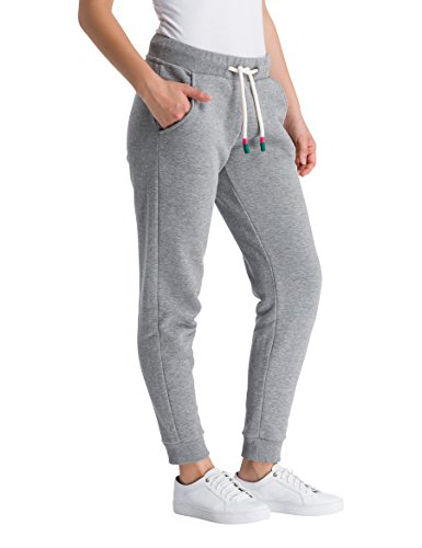 Pants Ma1054 Pantalones Her Sweat Gris Para Grey winter Bench Mujer Marl vwHOqEn