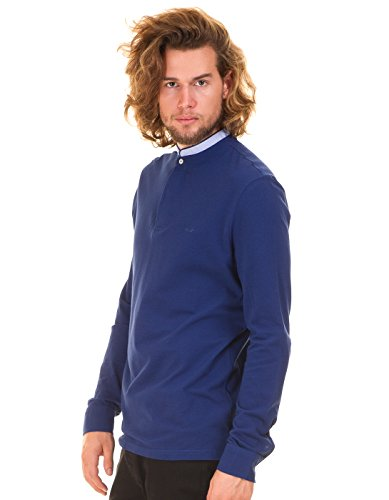 Antonio Banderas sweater shirt neck by Selected (M - Blue)