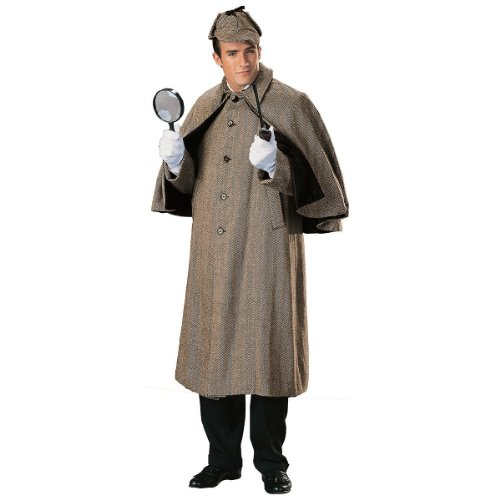 Regency Collection Sherlock Holmes Capecoat Adult Costume Tan - Small