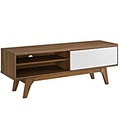 Living Room Modway Envision Mid-Century Modern 44 Inch TV Stand modern tv stands