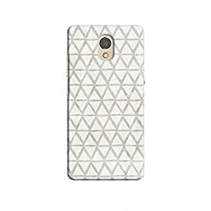 Cover It Up - Triangle Print Grey P2 Hard Case