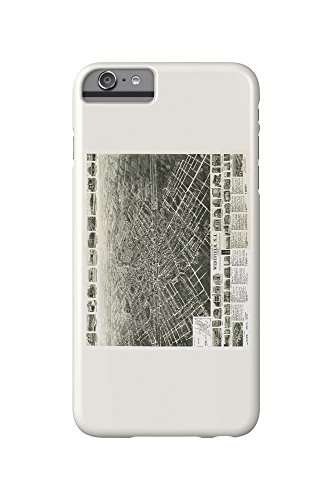 westfield-new-jersey-panoramic-map-iphone-6-plus-cell-phone-case-slim-barely-there