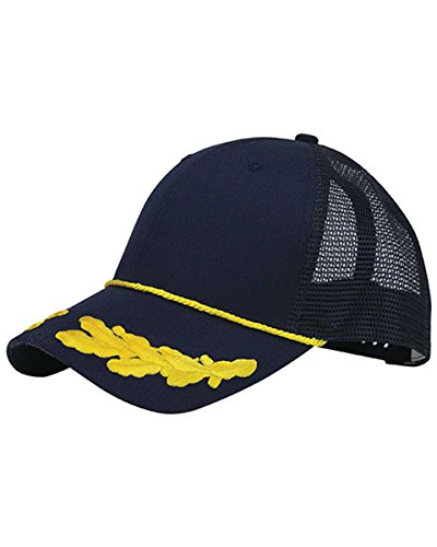 Awkward Styles Captain Cap Sailor Gifts Yacht Hats for Men Captain Cap Costume Hat One Size ()