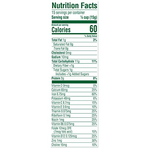 41OcVXtD1cL - Gerber Baby Cereal Gerber Organic Oatmeal Millet Quinoa Cereal, 8 Ounces (Pack Of 6)