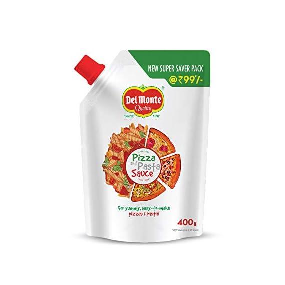 Del Monte Pizza & Pasta Sauce Spout Pack, 400g
