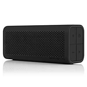 BRAVEN 770 Portable Wireless Bluetooth Speaker [12 Hr Playtime][Water Resistant] Built-In 1400 mAh Power Bank Charger - Black