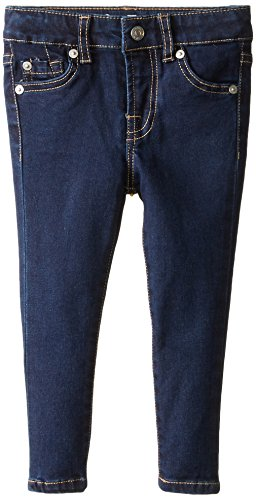 7 For All Mankind Big Girls' The Skinny Jean, Rinsed Indigo, 8 (Skinny All Jeans Mankind 7)