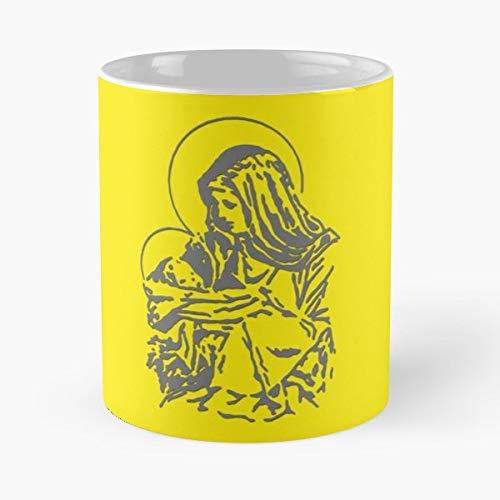 Gear Wear Dalei Lama Buddha Happiness Ceramic Coffee Mugs, Funny - Tony Stars Lama