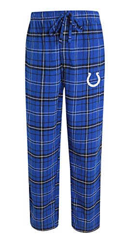 Concepts Sport Indianapolis Colts NFL Ultimate Goal Men's Flannel Pajama Pants