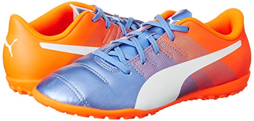 3 Choquant Bleu 5 Blanc De J Puma Jr 11 Evopower Yonder Chaussures Football Orange Tt 4 7aBHqnXnp