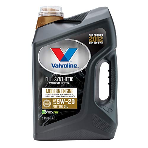 Valvoline 882230 Modern Engine 5W-20 Premium Synthetic Motor Oil 5QT ()