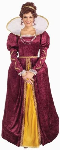 Forum Queen Elizabeth Dress and Crown Costume