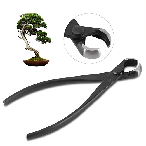 Knob Cutter,Professional 173mm Manganese Steel Alloy Round Edge Knob Branch Cutter Bonsai Tools for ()
