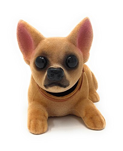 (Noveltees Company Bobbing Head Dog, Bobble Head Chihuahua, Lying Down )