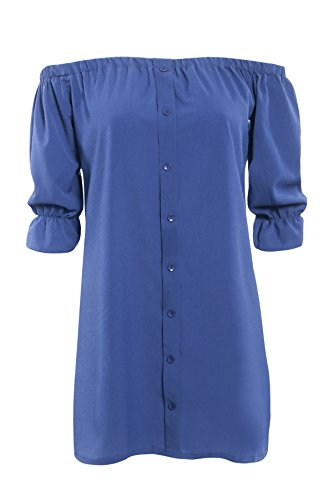 Blue Dress Navy Pattern Print Rafago Chrysanthemum 2 Sling WZaPqaYcO4