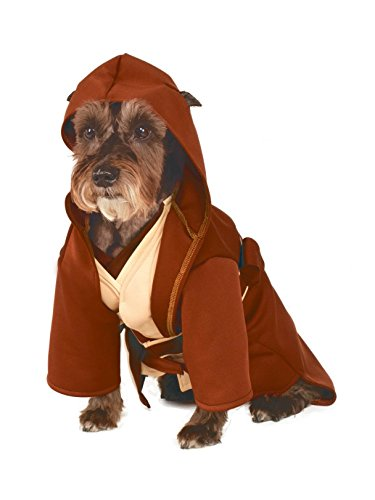 Rubie's Star Wars Classic Jedi Robe Pet Costume, Medium -