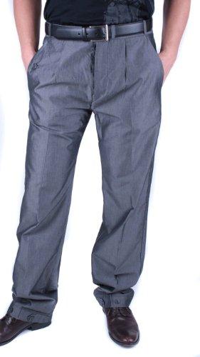 Diesel Homme Pantalon D'affaires Pantalon Prezifeddo Gris #27