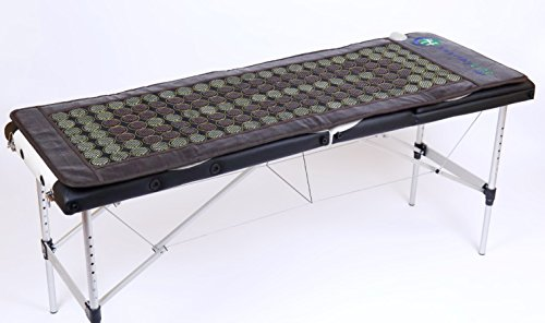 HealthyLine Far Infrared Heating Mat 72''x24'' Relieves Sore Muscles, Joints, Arthritis|Natural Jade & Tourmaline with Negative Ions|InfraMat Pro Most Flexible Model-Easy to roll-up(Light & Firm) by HealthyLine (Image #4)