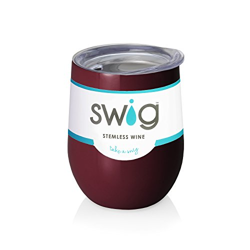Maroon Swig  Wine Tumbler ()