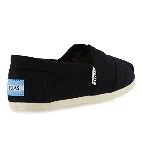 Womens Lerret Slip-on Black