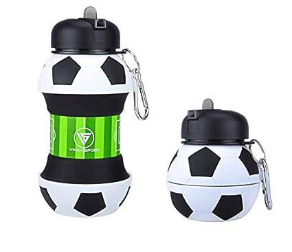 Vikka Sport - Botella de Agua Plegable para niños, Adolescentes ...