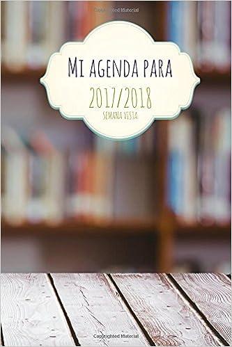 Mi agenda molona para 2017/2018: semana vista (Spanish ...