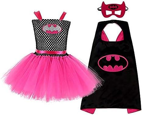 Z-YQL Disfraz de superhéroe para Cosplay para niñas, Disfraz de ...