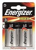 Photo : Energizer Battery D/LR20 Max 2-pak, 235384