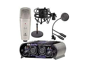 Usb Audio Interface For Podcasting : podcast equipment kit microphone studio podcasting mic usb audio interface musical ~ Vivirlamusica.com Haus und Dekorationen