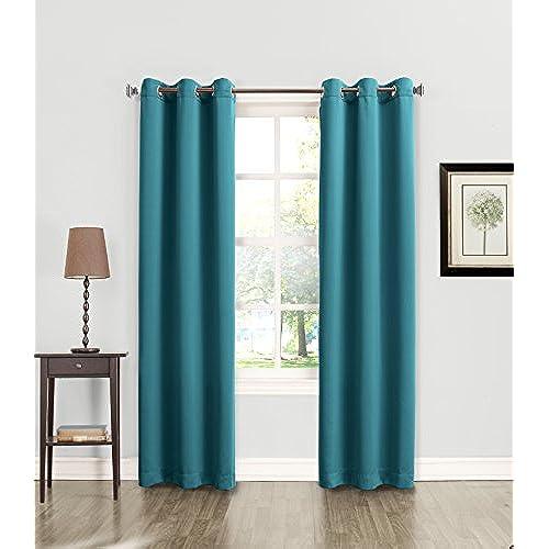 Teal Blackout Curtains: Amazon.com