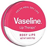 可愛い缶入り! Vaseline Lip Therapy <ヴァセリン リップセラピー> 17g Rosy Lips <ローズ/ロージーリップ> Vaseline Lip Therapy Rosy Lips 0.6oz [並行輸入品]