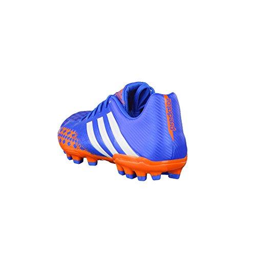 adidas Predator Absolado LZ Traxion AG - Zapatos de fútbol de material sintético hombre Azul-Naranja