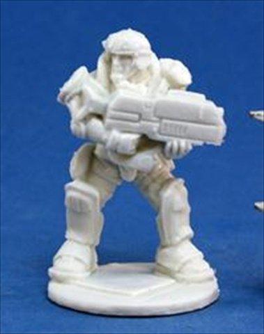 Reaper Miniatures 80019 Bones - Chrono Imef Jazz Jenkins 1 Miniature