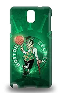 Note 3 Awesome 3D PC Case Cover Compatible With Galaxy Note 3 NBA Boston Celtics Logo ( Custom Picture iPhone 6, iPhone 6 PLUS, iPhone 5, iPhone 5S, iPhone 5C, iPhone 4, iPhone 4S,Galaxy S6,Galaxy S5,Galaxy S4,Galaxy S3,Note 3,iPad Mini-Mini 2,iPad Air )