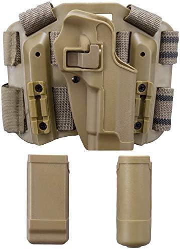 CQC Serpa MANO DESTRA Drop Leg Coscia FONDINA per Pistola per Beretta 92 96 M9 M92