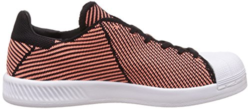 adidas SUPERSTAR BOUNCE PK W - Zapatillas deportivas para Mujer, Negro - (NEGBAS/BRISOL/FTWBLA) 40 2/3