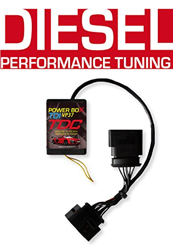 (Power Box VP37 Diesel Chip Tuning Performance Module Tuningchip for VW Volkswagen Golf IV 1.9 TDI 81 KW / 110 PS / 319 NM - Plug and Drive)