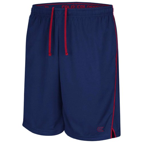 Top Colosseum Athletic Draft Piping Basketball Shorts (Navy) - L for cheap