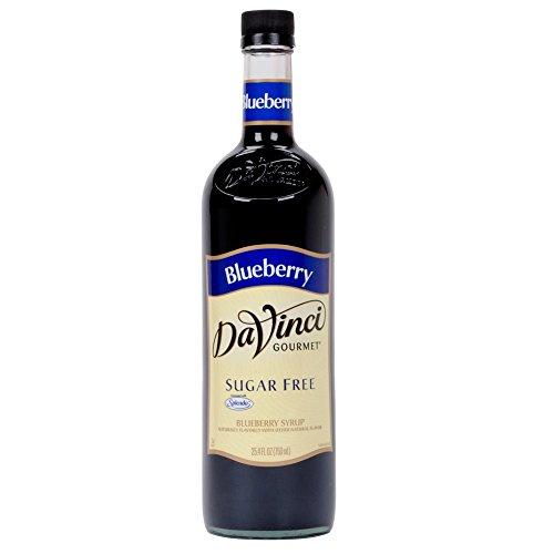 Da Vinci SUGAR FREE Blueberry Syrup with Splenda, 750 ml