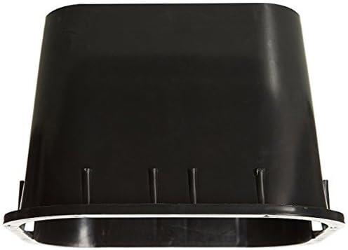 Rc-Junter ARQ1SE - Arqueta de riego cuadrada pequeña, color Negro: Amazon.es: Jardín