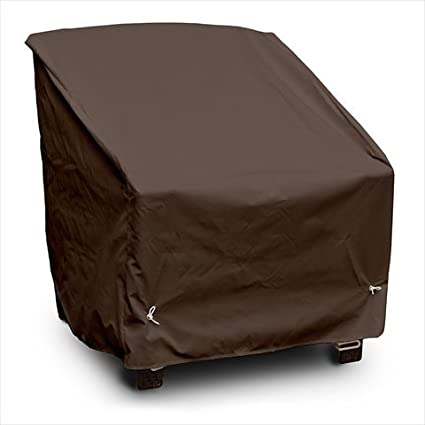Koverroos 99522 Weathermax Deep Seating High-Back Lounge Chair Cover& Chocolate - 39 W X 33 D X 38 H In.