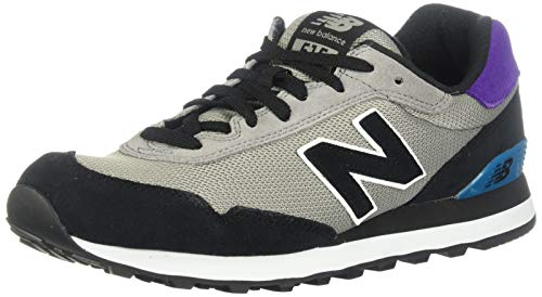New Balance Men's 515v1 Sneaker, Marblehead/Black, 13 M US
