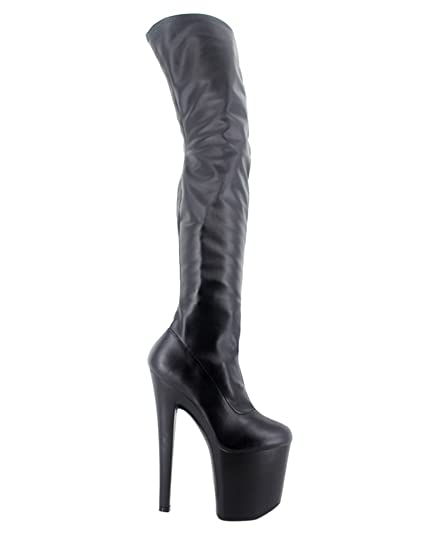 7f57f514470 WONDERHEEL Women Fetish Platform Boots  Amazon.co.uk  Shoes   Bags