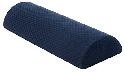 Carex Semi Roll Pillow, Ergonomic Pillow for Reducing Head, Shoulder, Neck & Back Discomfort for Better Sleep