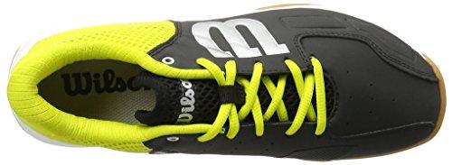 Wilson Recon Bk/Sulphur Sp/Wh 4.5, Scarpe da Tennis Unisex-Adulto, Nero (Black/Sulphur Spring/White), 37 2/3 EU