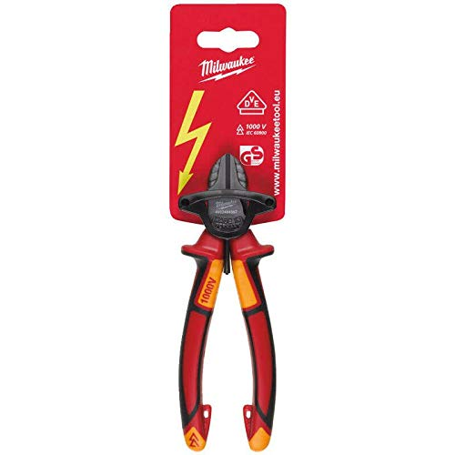 Cortador diagonal 160 mm Milwaukee 932464567 VDE color rojo