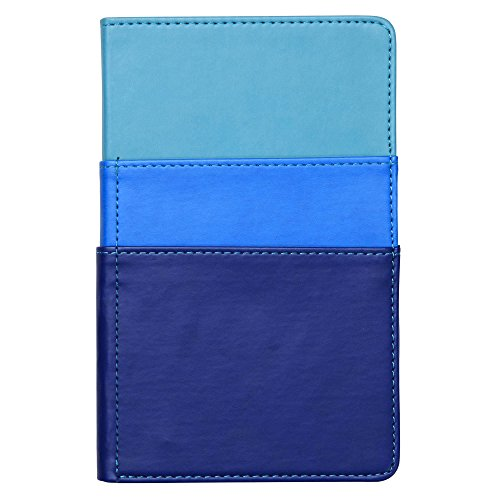 C.R. Gibson Color Block Leatherette Journal, Includes Ribbon Marker, Front Pockets, 192 Pages, Measures 5