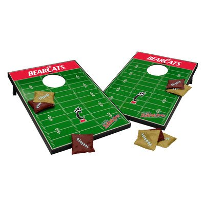 NCAA Cornhole Game Set NCAA Team: Cincinnati Bearcats by Tailgate Toss