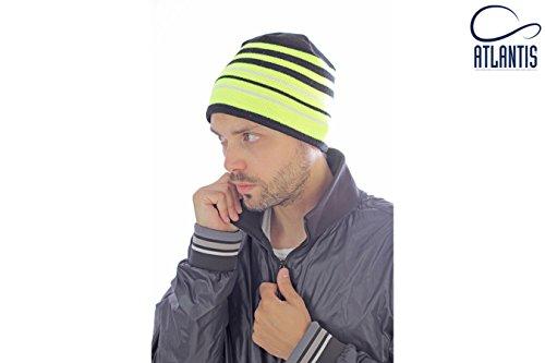 Cuffia Cappello uomo donna Sport Beanie ATLANTIS Fluo Fluorescente